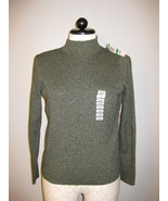 Karen Scott Cotton Long Sleeve Sweater Size L NWT - $16.00
