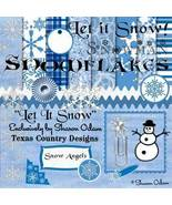 Let It Snow Digital Scrapbooking Kit - $4.00