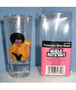 Freezable whiskey novelty Shot Glass African Am... - $14.77