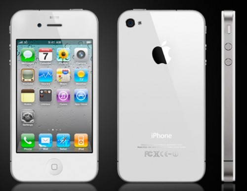 Verizon Apple iPhone 4 16GB White CDMA Video Cell Phone