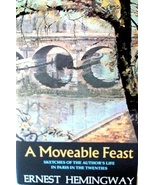A Moveable Feast, by Ernest Hemingway HC DJ