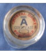 Crystal Dairy Half Pint Milk Bottle Cap Vintage... - $9.93