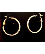 Small Gold Hoops - $1.01