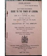 Guide To The Tower Of London, Dillion 1918 - $31.95