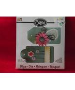 Sizzix Bigz die Tags #3  656343 die size  5 1/2... - $17.99