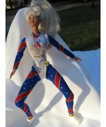 Olympic Barbie and her Souveniers - $7.00