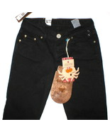 NWT LTB Little Big Jeans Black Skinny 27 x 34 w... - $89.99