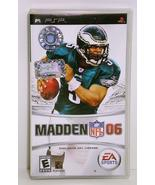 Madden NFL 06 by Electronic Arts 2006 Sony PSP - $5.00