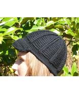 Crocheted Newsboy Cabled Cap Hat Women, Teen, C... - $25.00