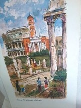15x30 A.  Bernardon  Print  ROMA - $37.23