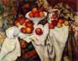 Pommes et Oranges  Paul Cezanne 22x28 - $54.87