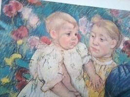 24x30  IN THE GARDEN Mary Cassatt - $63.69