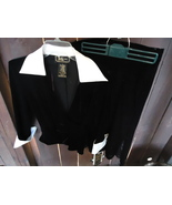 Elegant 2 piece skirt outfit /Black and White  - $20.00