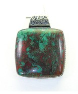 Large Sonora Sunset Jasper Square Sterling Silv... - $113.81