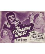The Crimson Ghost 1946 12 Chapter Serial DVD Cl... - $4.99