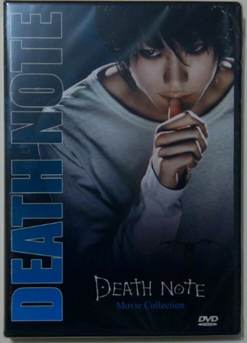 Death Note Movie Collection - Parts 1 to 3 - English Language - New DVD Set