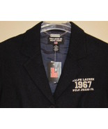 Ralph Lauren Polo Navy Wool Blazer Size 8 New - $89.00