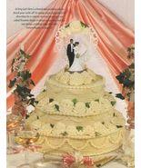 Y037 Crochet PATTERN ONLY Yummy 3 Tier Wedding ... - $10.45