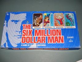 1975 The Six Million Dollar Man Board Game - $50.00