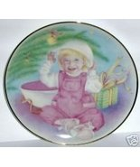 1993 TUPPERWARE COLLECTOR PLATE CHRISSY'S FAVOR... - $15.54