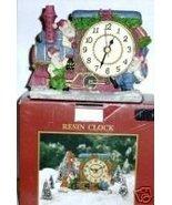 MIB SANTAS WORKBENCH RESIN CHRISTMAS TRAIN ELF ... - $11.78
