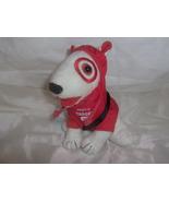 Target Bullseye Dog Plush Wearing Hoodie with Bag - $10.00