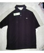 NWT DOCKERS GOLF SHIRT-FULL SWING FIT BLACK/TAN... - $21.18