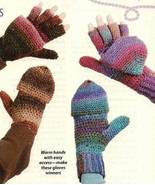 Y101 Crochet PATTERN ONLY Snap-On Gloves or Mit... - $7.45