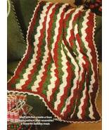 Y134 Crochet PATTERN ONLY Ribbon Candy Ripple A... - $6.45