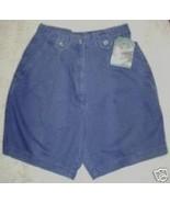 Woolrich Shorts Outdoorwear Faded Blue Cotton K... - $15.54