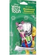 WINNIE THE POOH PIGLET LIGHTED CHRISTMAS ORNAME... - $11.78