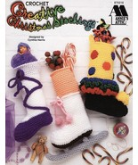 Creative Christmas Stockings Crochet Patterns Book Annies