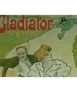 Cycles Gladiator By Misti, Original Maitre de l&#39;Affiche 1897    