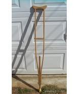 Antique One Piece Wood Crutch 62