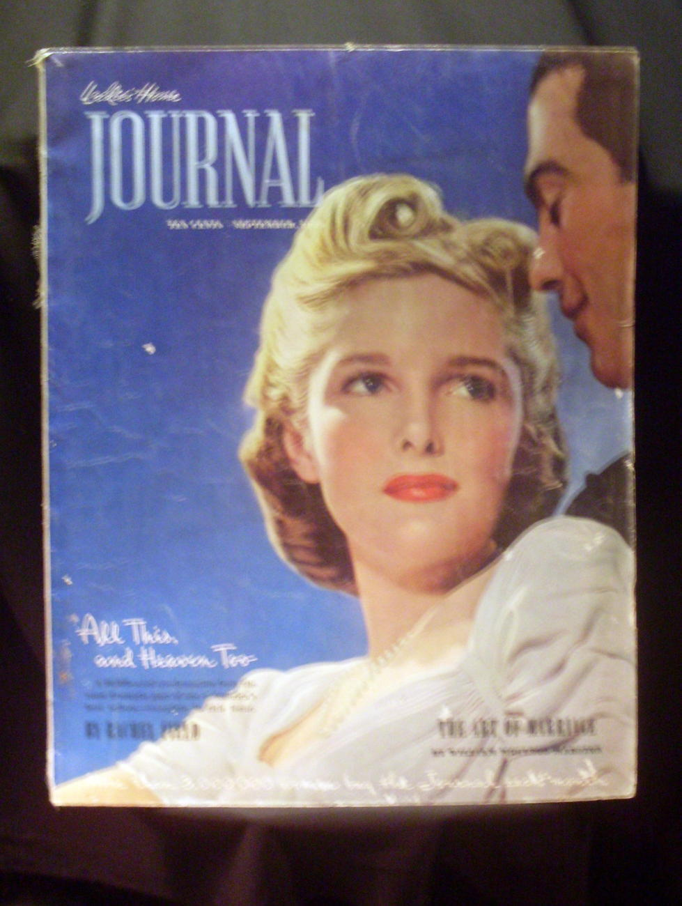 Ladies Home Journal Magazine Sep 1939 with Wizard of Oz Ad