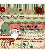 Christmas 02 Digital Scrapbooking Kit - $4.00