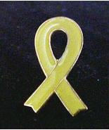 Yellow Awareness Ribbon Troops Liver Cancer Lap... - $4.97