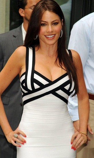 Celebrity Style Body con Bandage Dress with Free Shipping to US