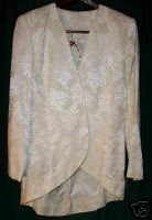 Handmade Brocade Fabric Jacket Sz M