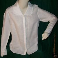 WHITEWASH 100% Cotton Blouse Sz. M