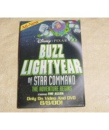 Disney Pixar Buzz Lightyear Of Star Command Pin... - $10.00
