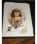 Antique Advertisement Cigarettes Lithograph Bea... - $30.00