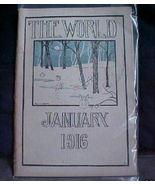 Antique  Magazine St Paul Central HS MN The Wor... - $5.00