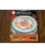 Wilton Halloween cake decorating stencil kit pu... - $4.50
