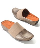 "Gentle Souls by Kenneth Cole ""Iso"" Leather Mule Slip-On Shoes  size 7.5"