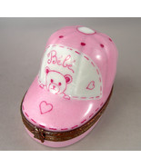 Limoges Box - Baby Bear Bassinet - Cradle - Pei... - $58.00