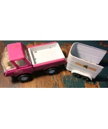 Tonka Purple Pressed Metal Truck & Tonka Stable... - $19.99