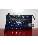 COACH  Poppy Liquid Gloss Zippy Wallet - Navy - BNWT