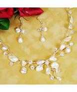 NEW! Beach Wedding Keshi Pearl Bridal Jewelry Set! - $74.99