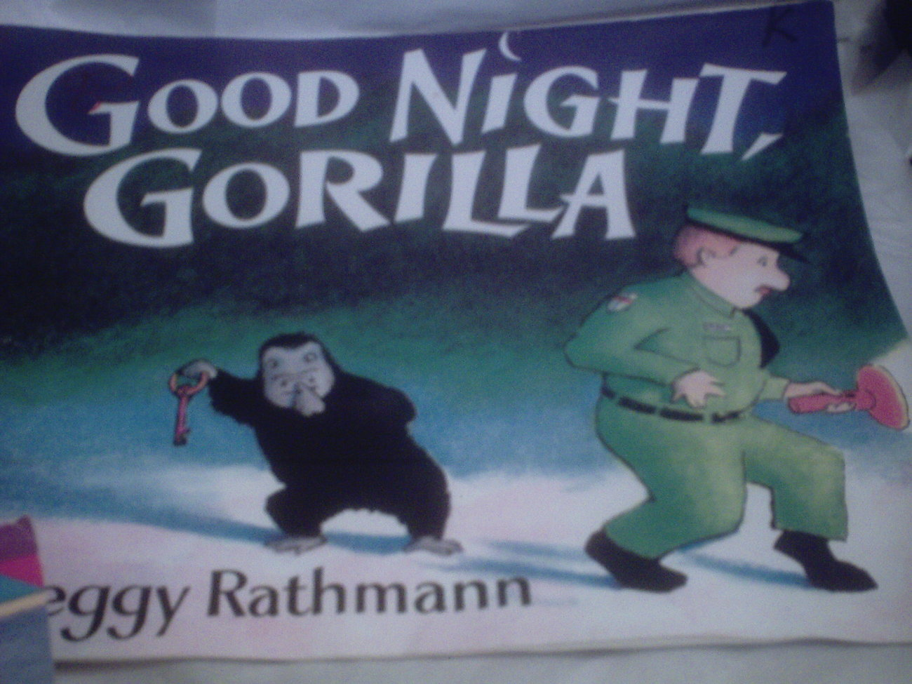 Good Night Gorilla Large Book Children S Books